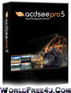 Cover Of ACDSee Pro v5.3 Full Version Free Download At worldfree4u.com