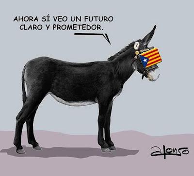 burro , catalán , ase , futuro prometedor, orejeras , anteojeras