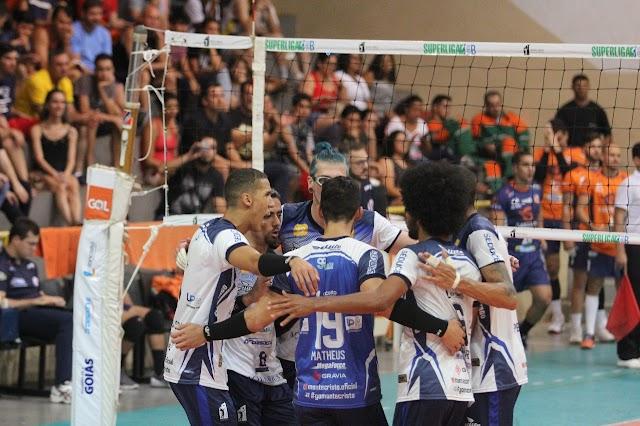 Anápolis será o representante goiano na Superliga B de voleibol