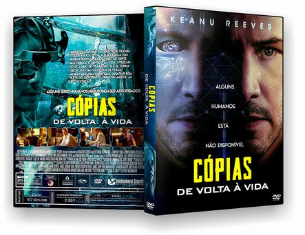 CAPA DVD – Cópias De Volta À Vida – TS CINEMA – AUTORADO