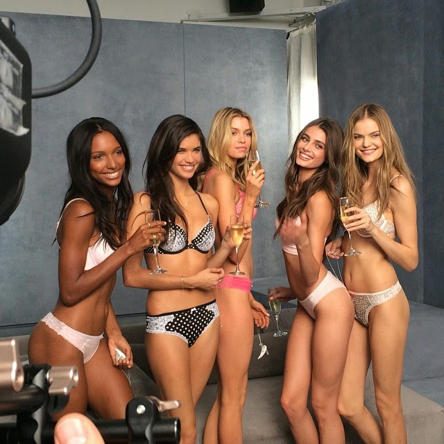 New Victoria's Secret Angels bare it all for a sultry photoshoot