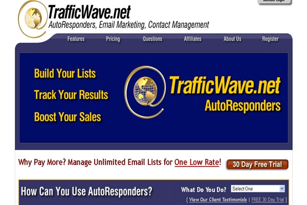autoresponder traffiwave email marketing