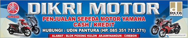 Contoh Banner spanduk Dealer Motor Cdr