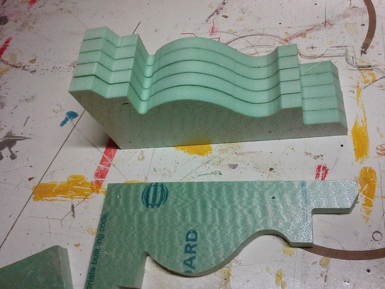 New York City Destroyed !! - foam board model making | The art of