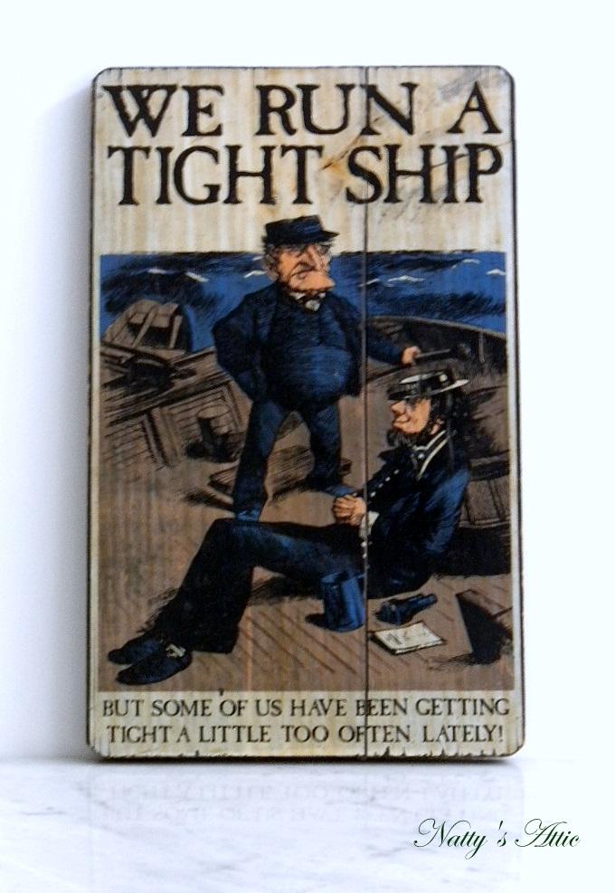 Run A Tight Ship 117