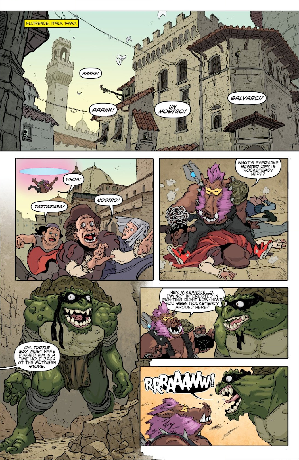 Read online Teenage Mutant Ninja Turtles: The IDW Collection comic -  Issue # TPB 8 (Part 1) - 85
