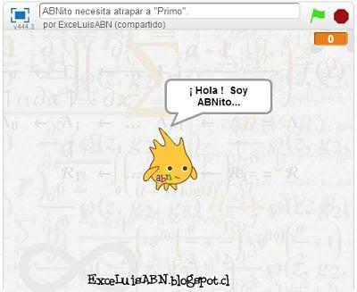 ABNito quiere atrapar a los números primos.