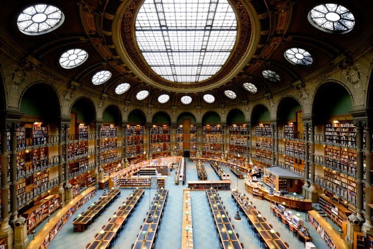 12. The National Library of France, Paris, France - 31 Incredible Libraries and Bookstores Around the World