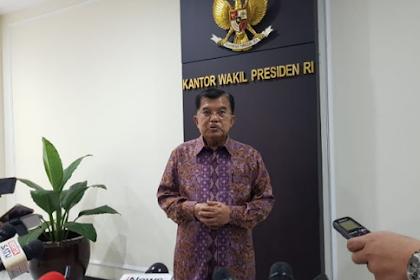 Jusuf Kalla: Kita Hormati Keputusan Malaysia Bebaskan Siti Aisyah. Dia Bebas Karna Tak Cukup Bukti