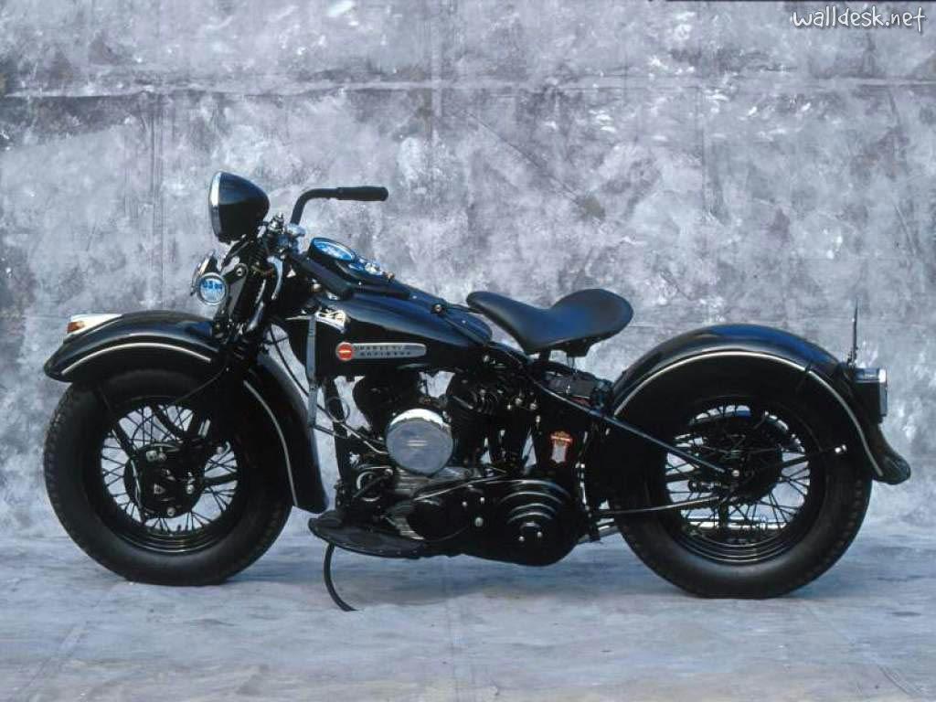 Vintage Harley Motorcycles 109