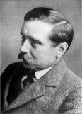 H.G. Wells sci-fi író