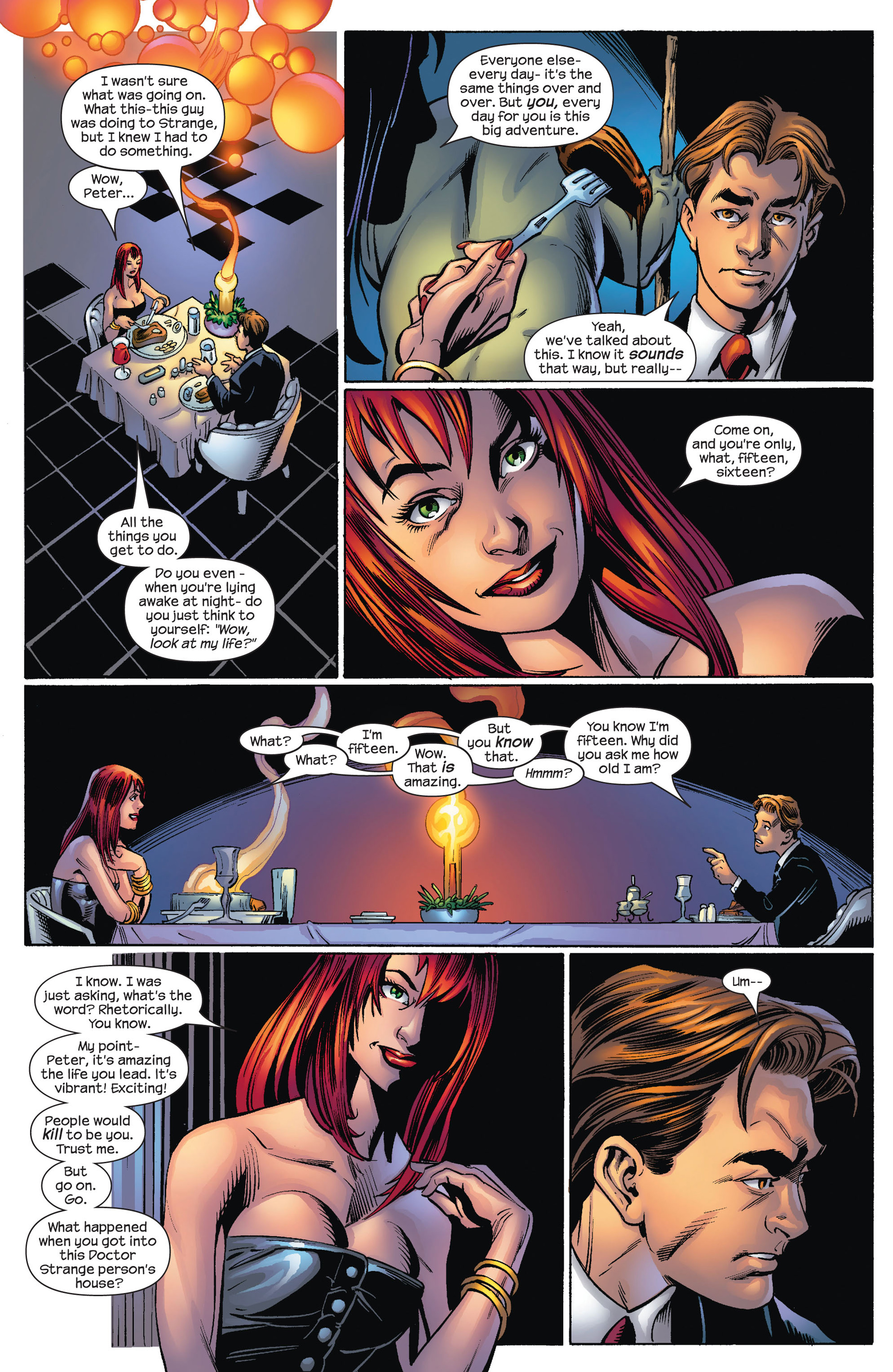 Read online Ultimate Spider-Man (2000) comic -  Issue #70 - 17