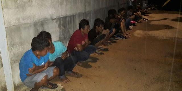 27 TKI ILEGAL ditangkap TNI AL