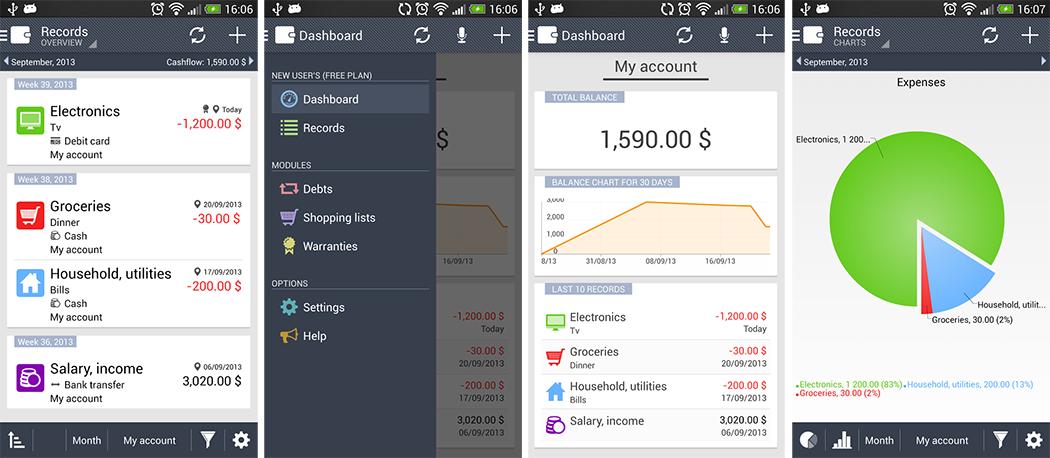 Le migliori App per Gestire Soldi del 2015 per Android