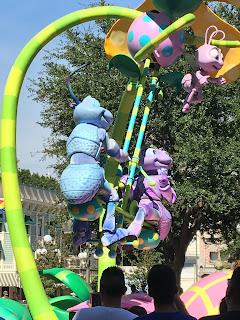 Bugs Life Pixar Play Parade Flik and Princess Atta