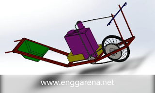 Design, Development and Fabrication of Agricultural Spraying Machine - Mechanical Engineering Project | www.enggarena.net