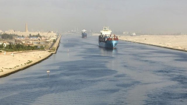 Canale di Suez, transiti a Febbraio