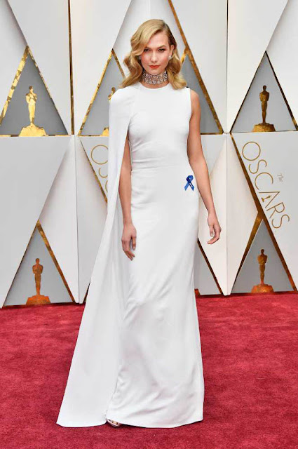 Karlie Kloss at 89th Annual Academy Awards