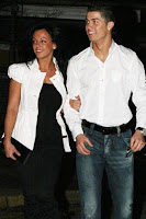 Foto Cristiano Ronaldo dengan Nereida Gallardo