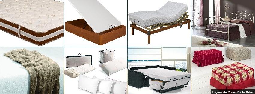 colchón de muelles, somier eléctrico con colchón de lates, cama completa, cómodo sofá cama, almohadas de viscoelástica