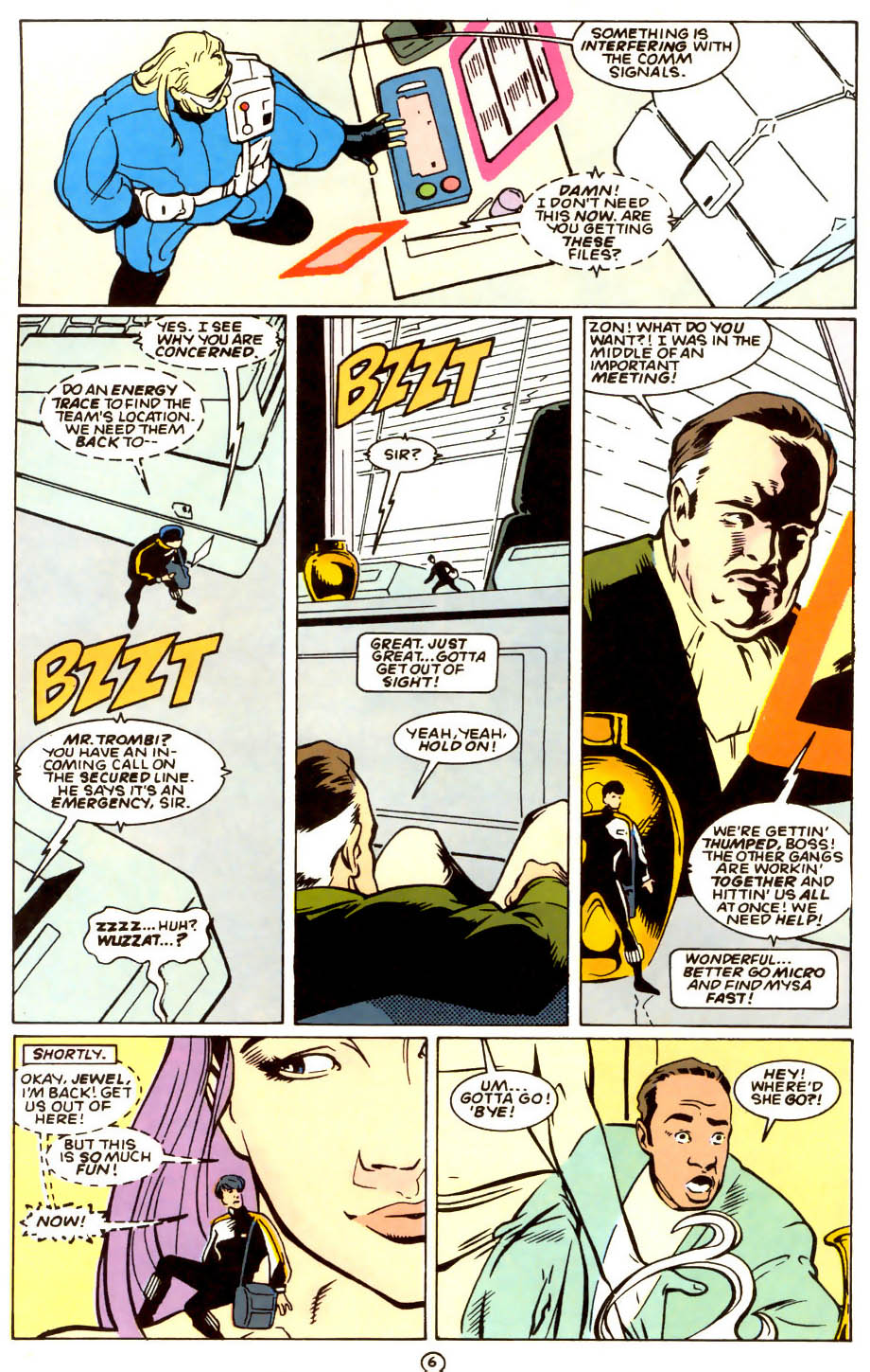 Legion of Super-Heroes (1989) 56 Page 6