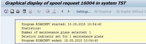 SAP PM Solutions: Archiving of Maintenance Plans - PART II