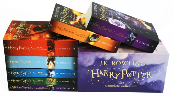 All 7 of the Harry Potter books