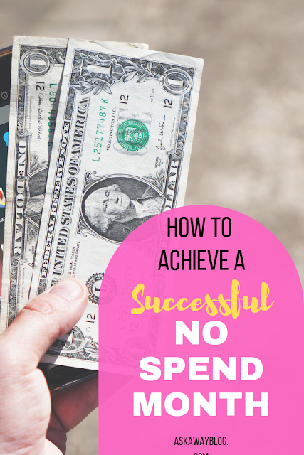 How To Achieve A Successful 'No Spend Month'