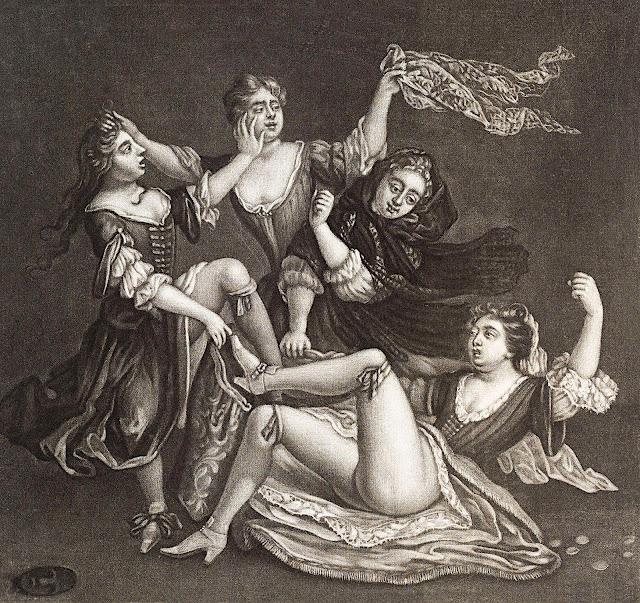 John Smith: Donne che lottano per delle culottes