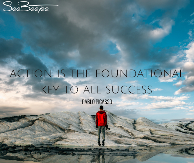 2. Action is the foundational key to all success. - Pablo Picasso