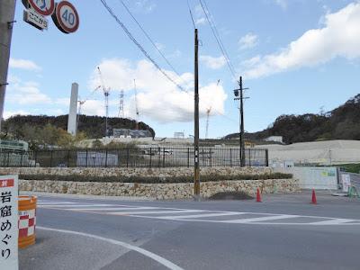 磐船神社周辺ウォーキング  四條畷市交野市清掃施設組合 新ゴミ処理施設建築工事