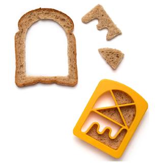 Bready Made emporte pièce pour tranche de pain