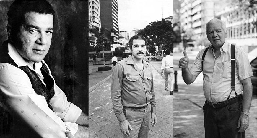 3 fotografías de Eduardo Liendo (blanco y negro)