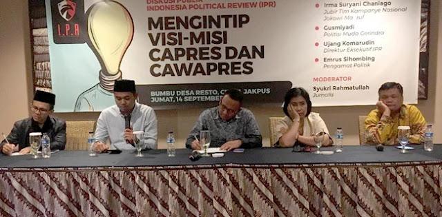 Gerindra: Visi Misi Prabowo-Sandi Berangkat Dari Kegagalan Ekonomi Jokowi
