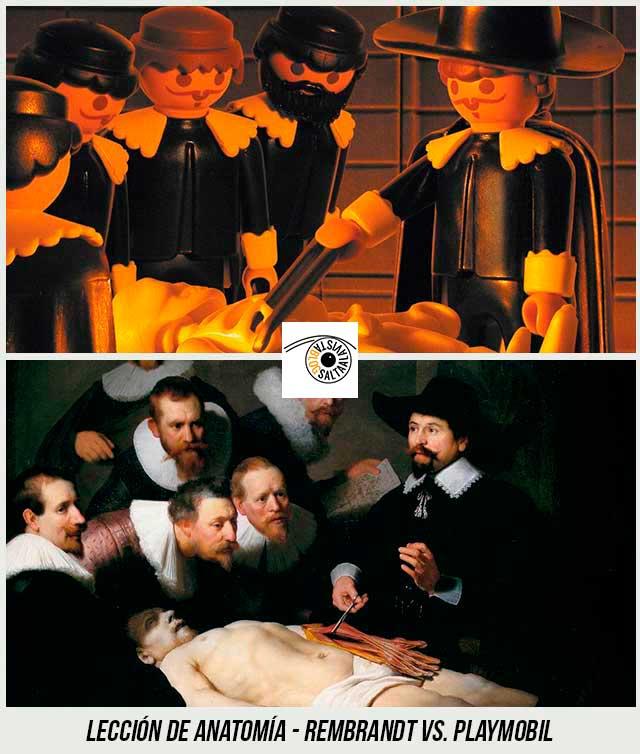 Cuadro-Lección-de-Anatomía-de-Rembrandt-Hecho-con-Playmobil