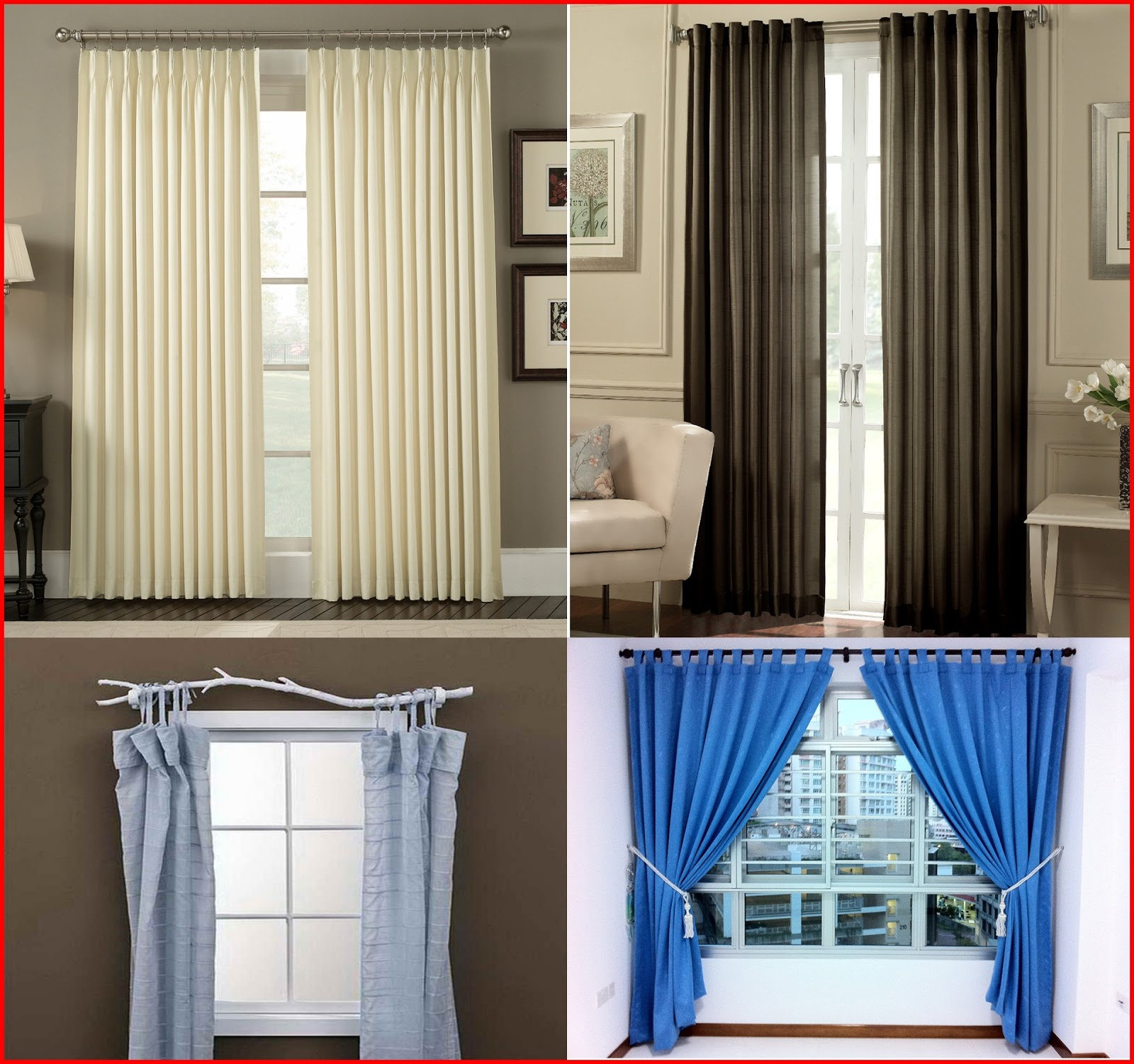 How to choose curtains for living room window