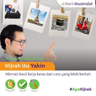 Muslim Itu Bukan Cuma Identitas, #AyoHijrah  bersama Bank Muamalat Indonesia