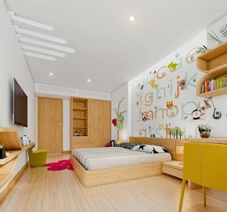 habitación adolescente moderno