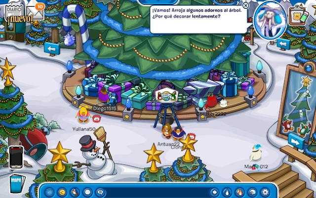 Navidad Club penguin 2015