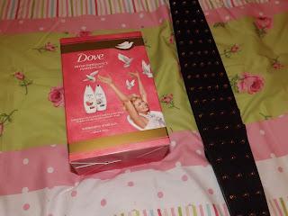 Dove beauty gift set