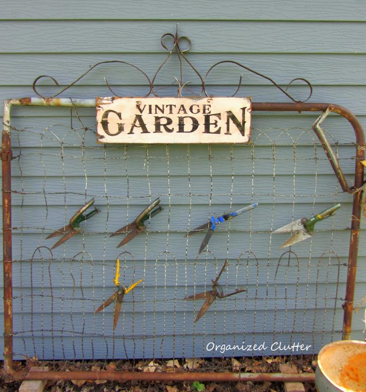 Garden Junk Ideas Galore 2014 Round Up: Organized Clutter
