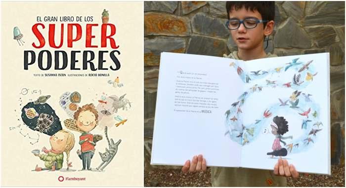 cuentos libros infantiles potenciar, fomentar sana alta autoestima gran libro super poderes isern bonilla