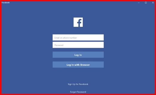 Welcome 2 facebook login