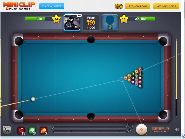 Cheat Garis 8 Ball Pool di Facebook Terbaru 2013   Riev Bapo