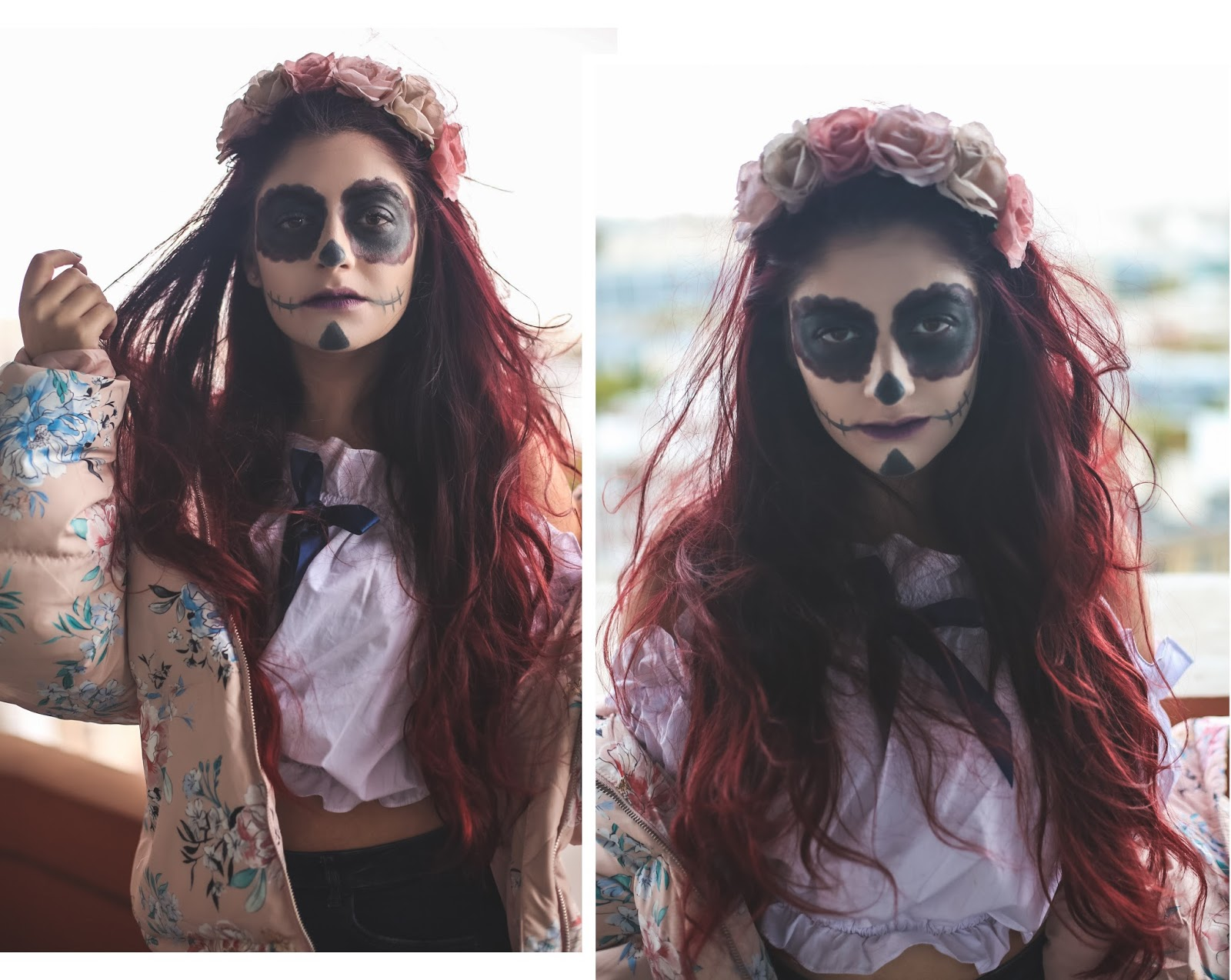 dia de los muertos maquillage