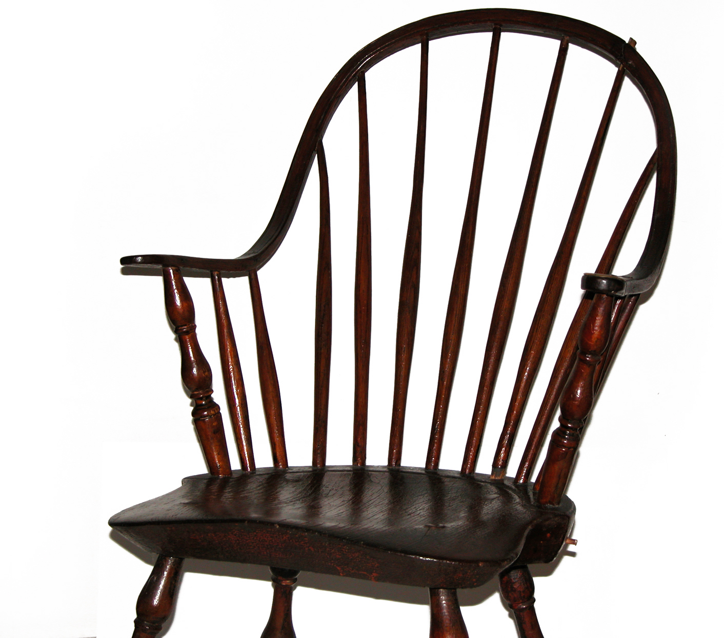 Contemporary Makers: Antique Windsor Chair with Repairs