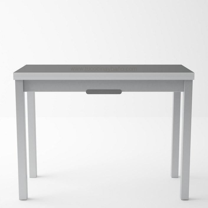 mesa cocina estrecha extensible precio
