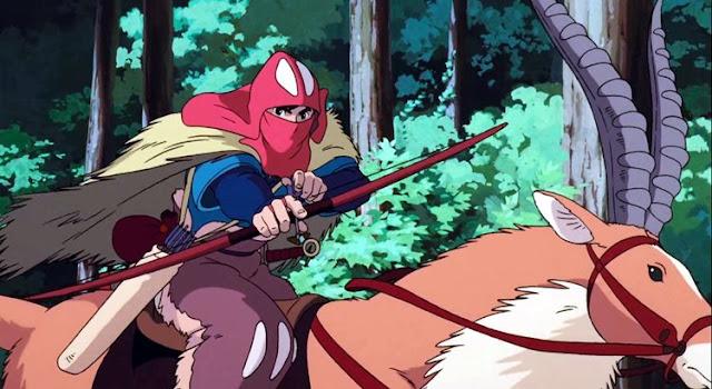 Anime Mirip Sen to Chihiro no Kamikakushi - Mononoke Hime
