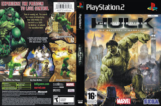 Cheat The Incredible Hulk PS2