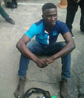 Notorious Lagos Gang Leader Arrested After Charm Failed Him
